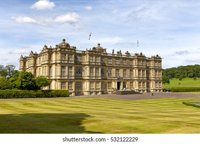Longleat House, Wiltshire, UK - July 17, 2014: Longleat House in Wiltshire, United Kingdom.
