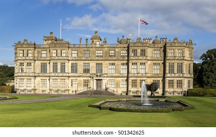 Longleat, UK, September, 30, 2016 - Showing Longleat house and grounds which is home to Lord Bath at the Longleat safari park in England, during the summer of 2016