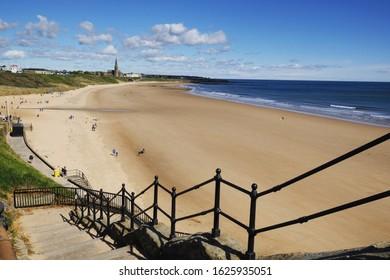 Longsands beach, Tynemouth, England, UK