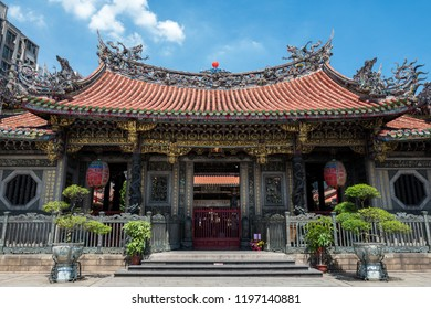 The Longshan Mengija temple in Taipei, Taiwan