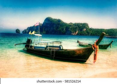 Longtail Boat, Phuket, Thailand