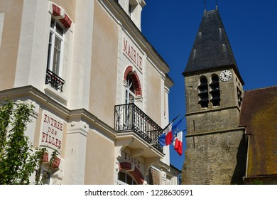 Longuesse, France - may 4 2018 : the city hall