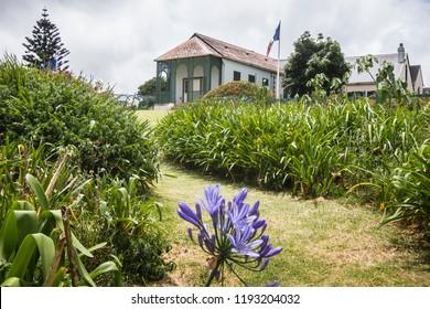Longwood house, Napoleon Bonaparte`s last domocile during his exile on St. Helena Island