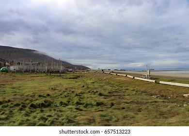 Longyearbyen town,Svalbard Norway