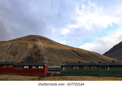 Longyearbyen,Svalbard Norway in Summer