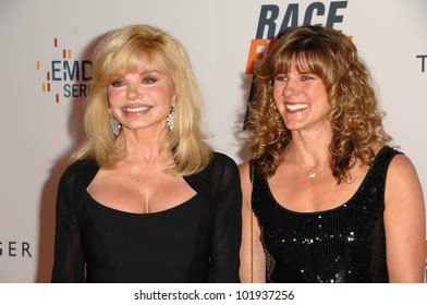958e849be800a Loni Anderson and Daughter at the 17th Annual Race To Erase MS, Century  Plaza Hotel