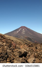Lonquimay volcano, in Malalcahuello and Nalcas National Park, Chile