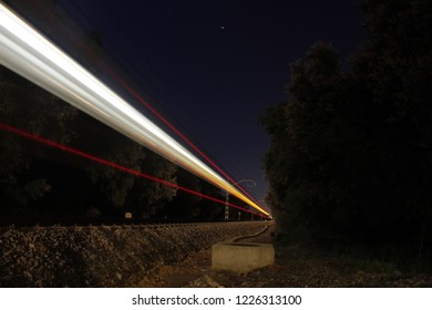 lons exposured train in la Garriga