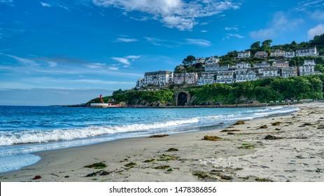 Looe - beautiful beach side. UK.