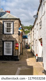 LOOE, Cornwall, England, UK - September 10 2018: Looe a very popular fishing port full of Fishing Boats and Yachts its also a  Beach Holiday Resort full of Hotels, Attractions, and Restaurants.