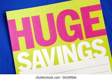 Look for huge savings ideas in spending money