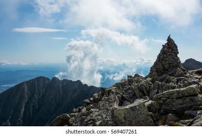 A look at Mount Katahdin's Knife Edge.