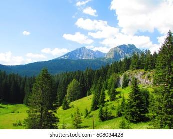 Look over Durmitor mountains, Montenegro.