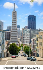 Look at the tower in the business centre of San Francisco