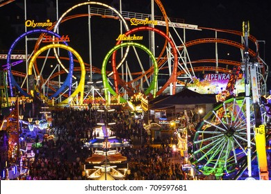Look at the Wiesn, Munich Oktoberfest Beer Festival, Bavaria, Germany, Europe, 23. September 2013