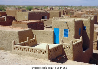 Looking across the Agadez skyline in Niger
