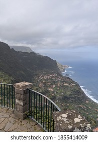 Looking along the North coast of the island of Madeira