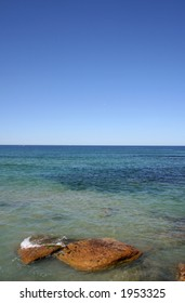 Looking from Cronulla out to the Pacific Ocean