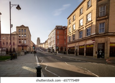 Looking Down Park Street A Bristol England, Long Exposure Photography