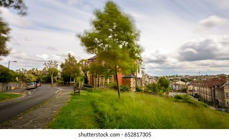Looking Down Redland Road B Bristol England Long Exposure Photography Motion Blur