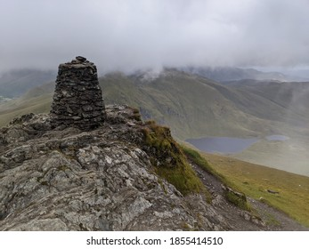 Looking East along Loch Yay from the summit of Ben Lawyers, Scotland