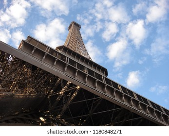 Looking Up Effel Tower