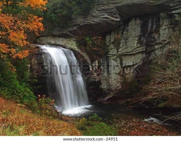 Looking Glass Falls North Carolina.