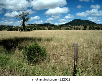 Looking at the Glenwood country, Queensland, Australia