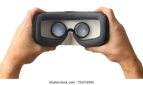 looking inside a vr or ar headset
