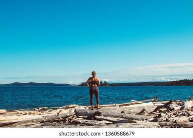 Looking at an Island