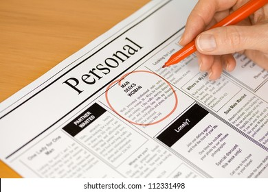 Looking for Love in the Personal Ads of the Newspaper