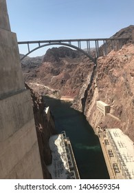 Looking off of the Hoover Dam