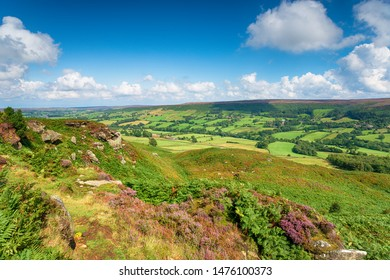 Looking out over Botton in the North York Moors National Park in Yorkshire
