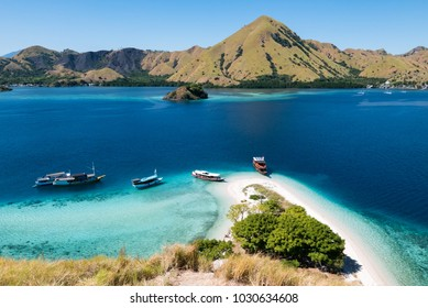 Looking Out from the Top of Kelor Island (Pulau Kelor), near Komodo National Park, Flores, Indonesia