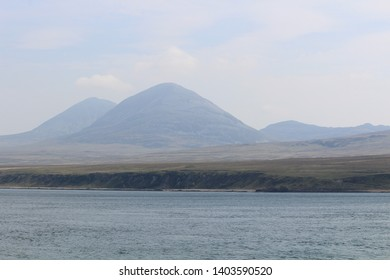 Looking over to Isle of Jura from Islay - Scotland