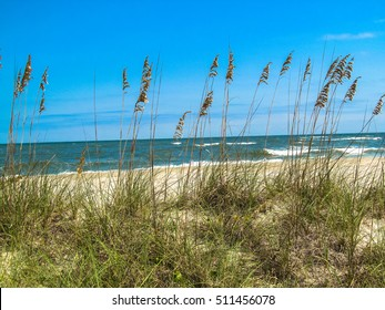 Looking over the sand dunes at Pawley's Island just south of Myrtle Beach, SC.