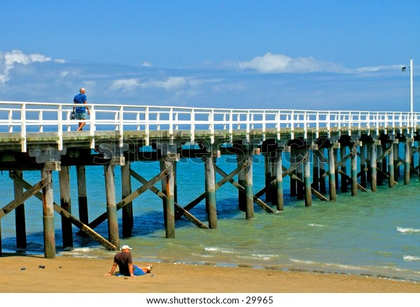 Looking at the Pier