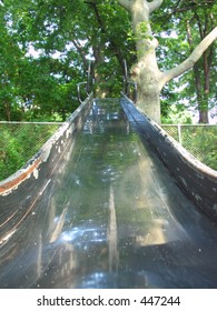 looking up a slide