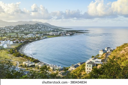 St kitts and nevis images stock photos vectors shutterstock looking at a touristic bay from up above a mountain in st kitts nevis publicscrutiny Images