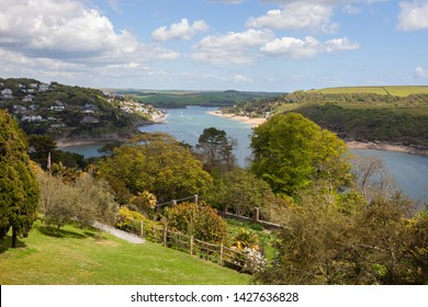 Looking towards Salcombe, Devon, England.