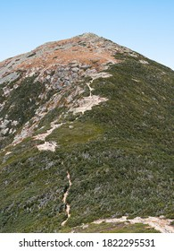Looking towards the top of Mount Lafayette from Franconia Ridge