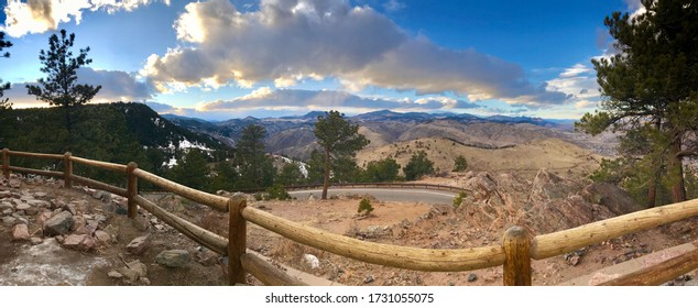Lookout Mountain View In Colorado