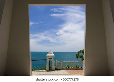 Lookout to the ocean