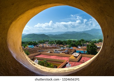 Lookout over the city of Trinidad, Cuba