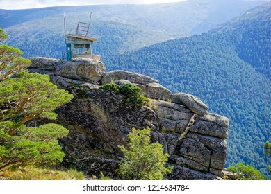 lookout post on the mountain