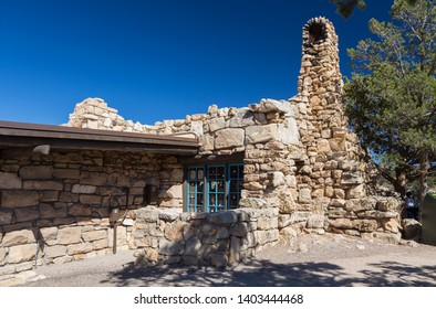 Lookout Studio, known also as The Lookout at Grand Canyon South Rim, Arizona, USA September 15th 2016