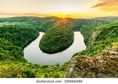 Lookout view Maj, Czech republic