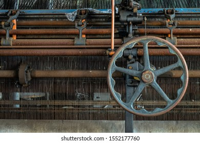 Loom used to create lace curtains.  Image taken at the old Scranton Lace Factory, built in 1890, closed in 2002, demolished in 2019.