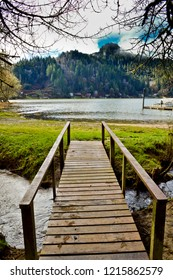 Loon Lake Lodge & Rv Resort wooden walkway