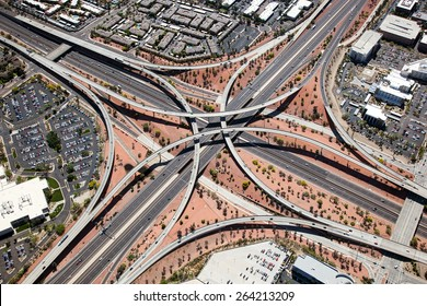 Loop 101 & I-17 Interchange in Phoenix, Arizona